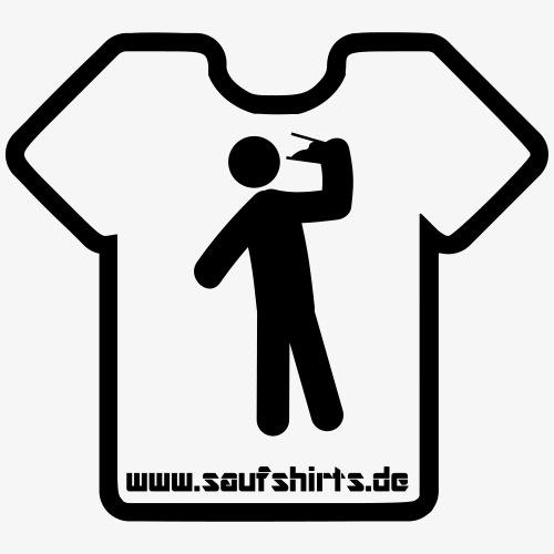 Saufshirts Logo - Männer Premium T-Shirt