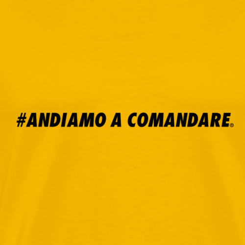 #ANDIAMO A COMANDARE ORIGINALS NEW BRAND - Maglietta Premium da uomo