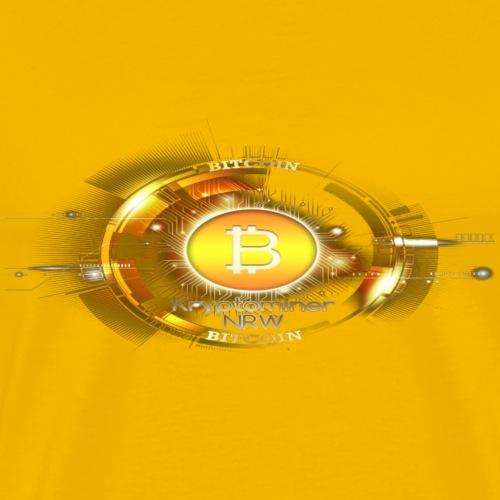 KNRW Bitcoin digital Logo - Männer Premium T-Shirt