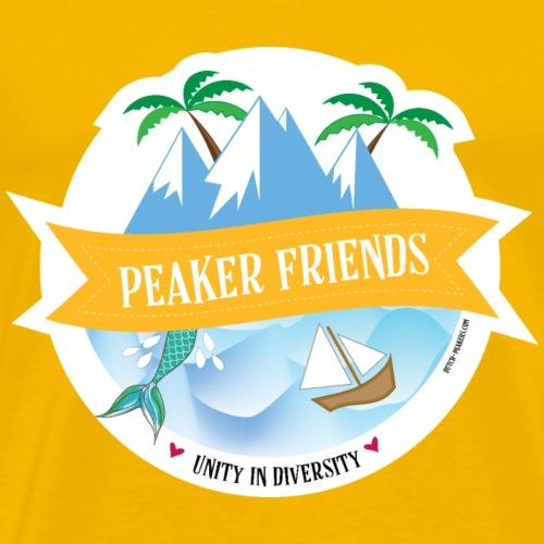 peaker friends - Men's Premium T-Shirt