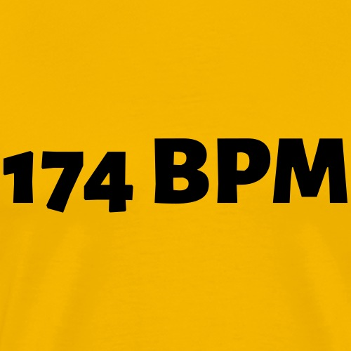 174 BPM - Männer Premium T-Shirt