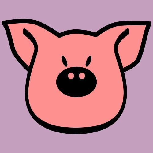 Schweinekopf - Männer Premium T-Shirt