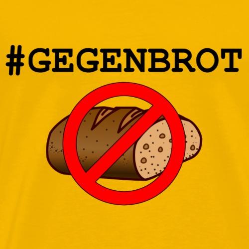 GEGENBROT mit Logo - Männer Premium T-Shirt
