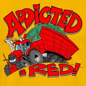 Addicted2RED - Premium T-skjorte for menn