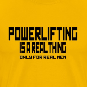 REAL THING dynamophilie - T-shirt Premium Homme