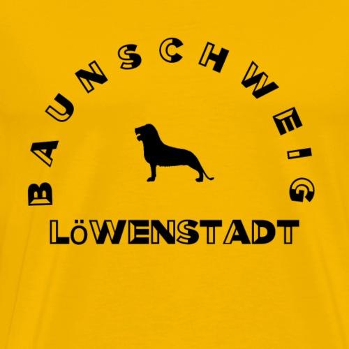 Braunschweig Loewenstadt - Männer Premium T-Shirt