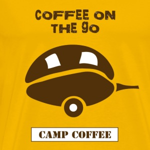 Coffee on the go - Men's Premium T-Shirt