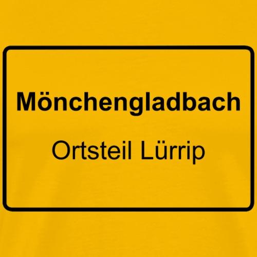 Moenchengladbach Ortsteil Luerrip - Männer Premium T-Shirt