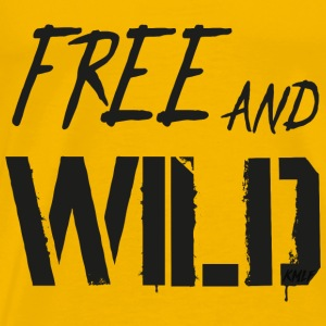 Free And Wild - T-shirt Premium Homme