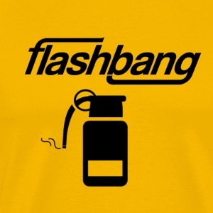 Flash Bang Log - 50kr Donation - Herre premium T-shirt