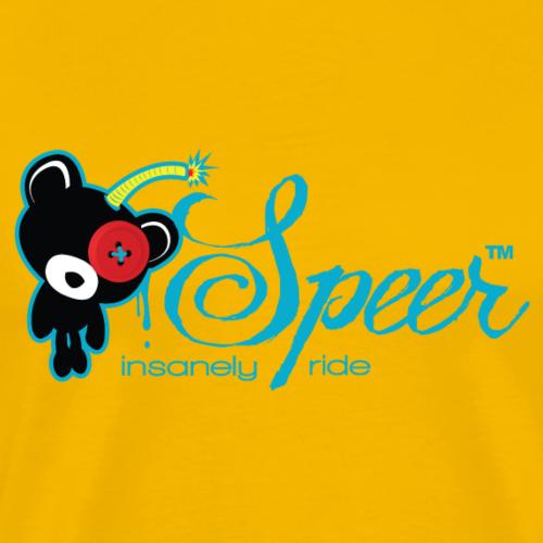 SPEER insanely ride - Männer Premium T-Shirt