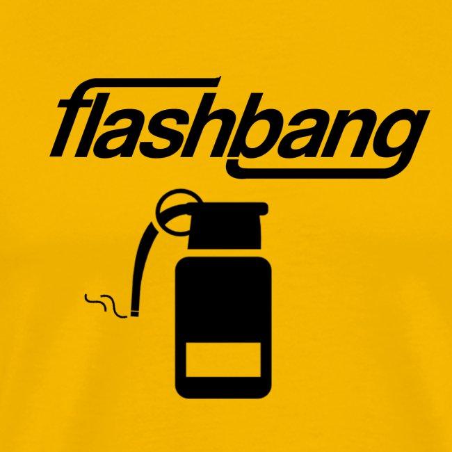 FlashBang Logga - Utan Donation