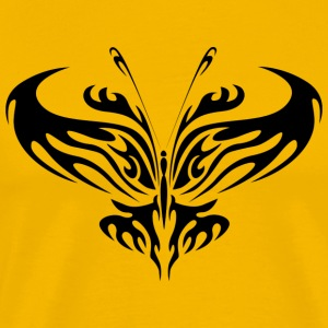Tribal Butterfly Tattoo - T-shirt Premium Homme