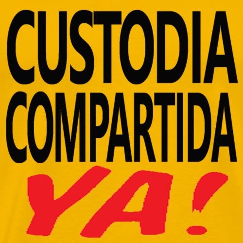 Custodia Compartida YA Negro - Camiseta premium hombre