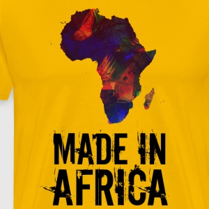Made In Africa / Afrique - T-shirt Premium Homme