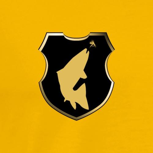 Modell 55 - Wappen steigende Forelle - Männer Premium T-Shirt