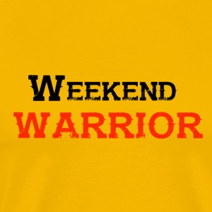 Shirt Weekend Warrior Weekend Party - Mannen Premium T-shirt