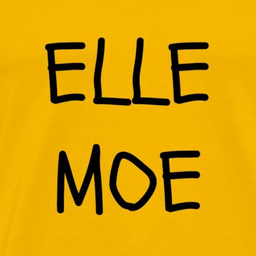 Elle Moe 2 - Mannen Premium T-shirt