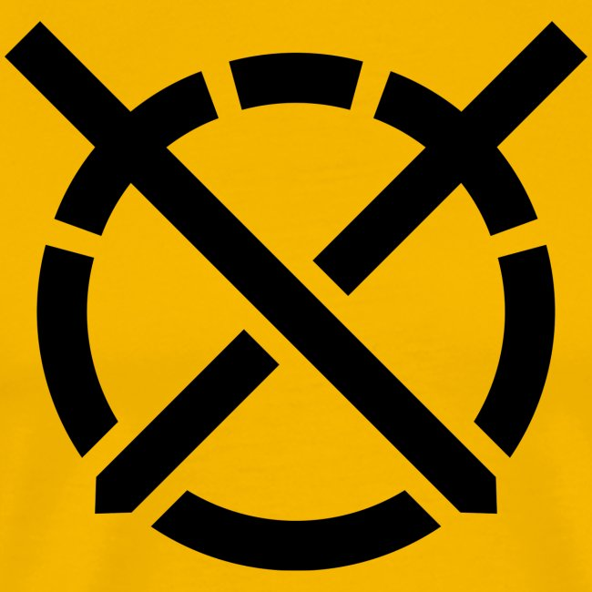 «Arte do Combate» simbolo preto