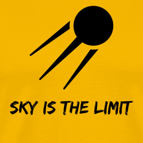 Sky is the limit. - Männer Premium T-Shirt