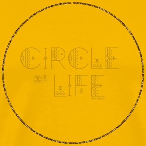 Circle of Life© - Songtext (Lyrics) - Männer Premium T-Shirt