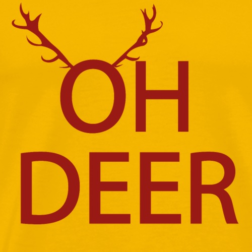 Oh Deer | Animal Fashion - Männer Premium T-Shirt