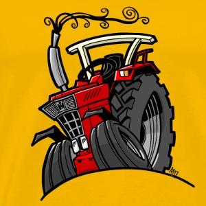 0642 IH rode trekker - Mannen Premium T-shirt