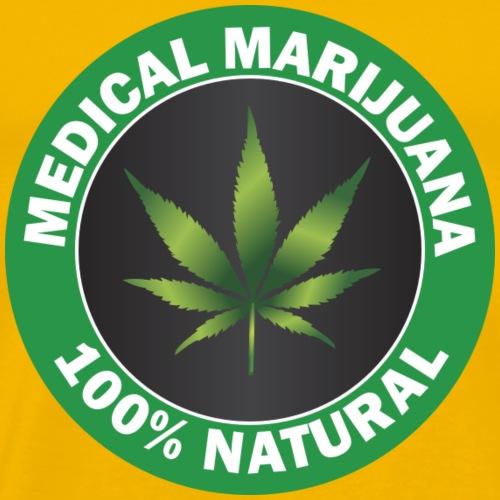 Medizinisches Marihuana - Männer Premium T-Shirt