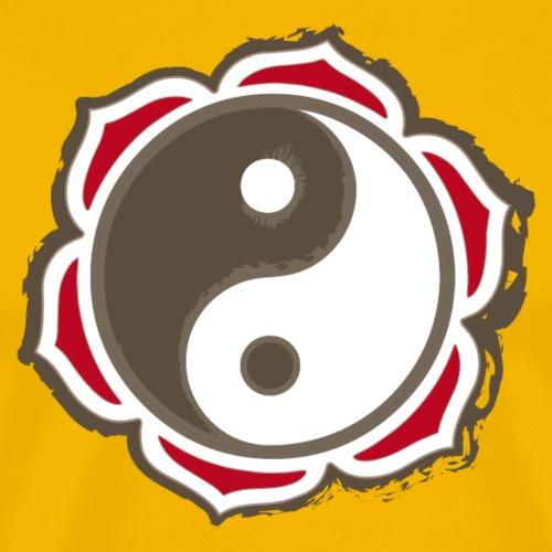yin yang diseño - Camiseta premium hombre
