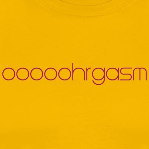 orgasm - Camiseta premium hombre