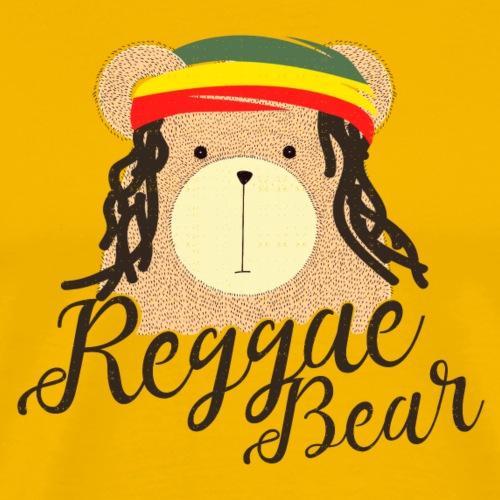 Reggae Bear - Männer Premium T-Shirt