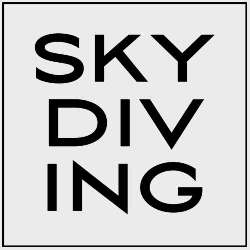 SKY DIV ING Black - Männer Premium T-Shirt