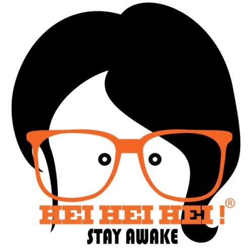 Nuovo Logo A4 donna2 occhiali 2coloriNERO 1 - Maglietta Premium da uomo