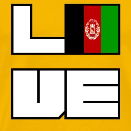 Love Heimat Wurzeln Roots Afghanistan - Männer Premium T-Shirt
