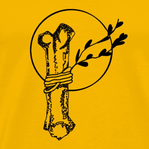 Flash Sheet bone - Männer Premium T-Shirt
