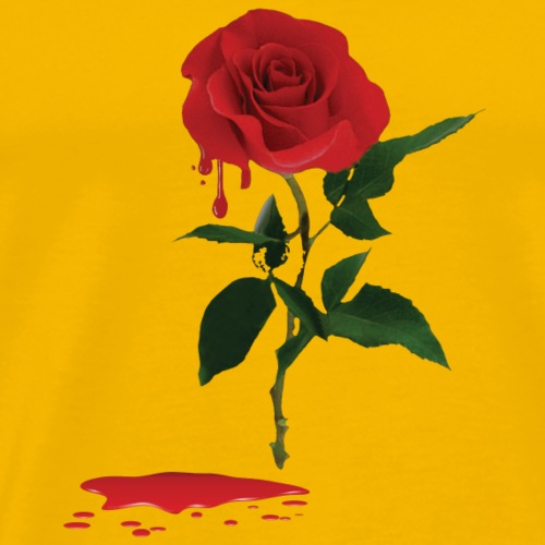 bloody rose - T-shirt Premium Homme