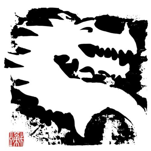 Black Dragon - Männer Premium T-Shirt