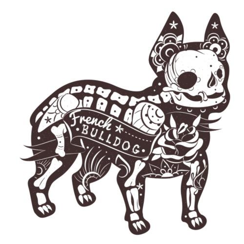 Skelett Bully - Männer Premium T-Shirt