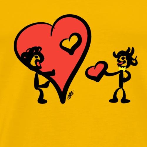 Kuoro San Valentino - Maglietta Premium da uomo