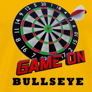 Darts Bullseye Game on - Mannen Premium T-shirt