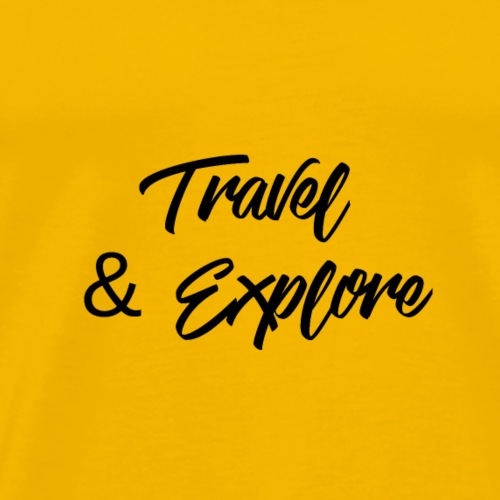 travel & Explore - T-shirt Premium Homme