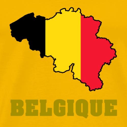 belgique 1 - T-shirt Premium Homme