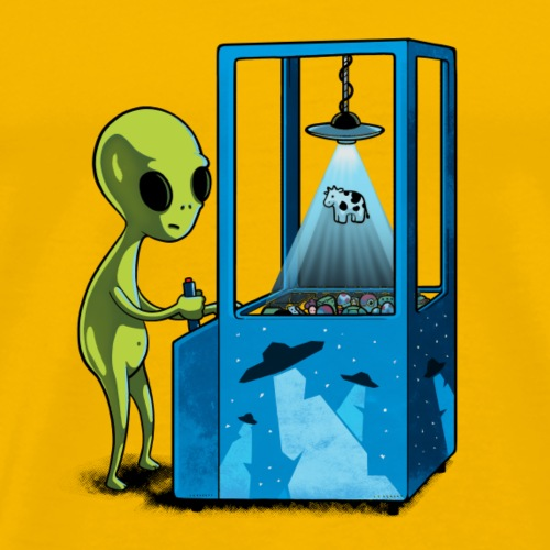 Naolito abduction II - Männer Premium T-Shirt