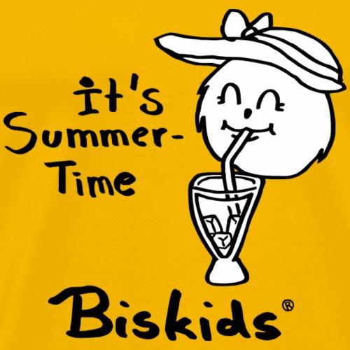 Lisa Jane Biskids Club white BG 27092017 1 - Männer Premium T-Shirt