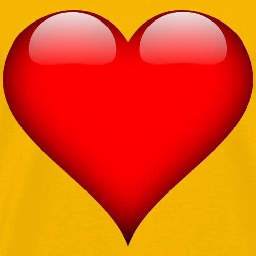 heart-157895_1280 - Premium-T-shirt herr