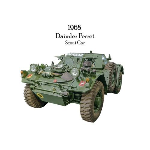 1968 Daimler Ferret Scout - Men's Premium T-Shirt