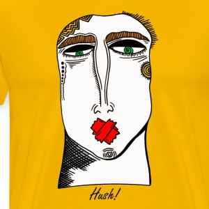 Hush - Premium T-skjorte for menn