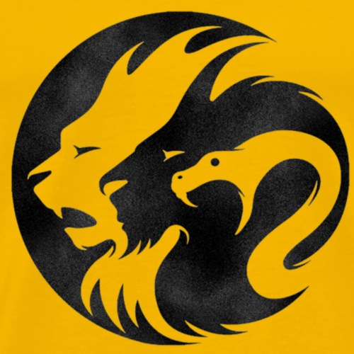 RBNDLX - LION / DRAGON / SNAKE EFFECT - Männer Premium T-Shirt