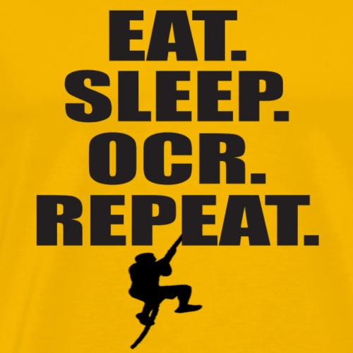 EAT. SLEEP. OCR. REPEAT. - Männer Premium T-Shirt
