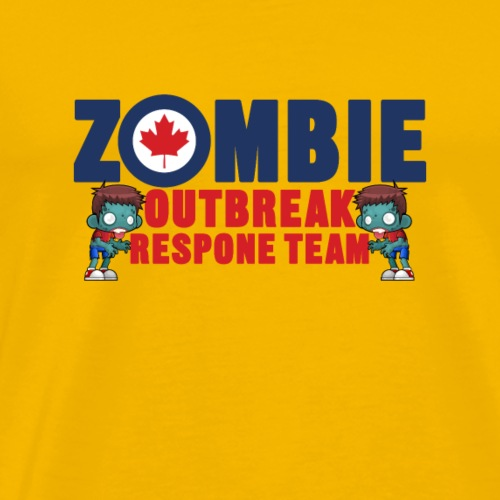 zombie outbreak - Männer Premium T-Shirt